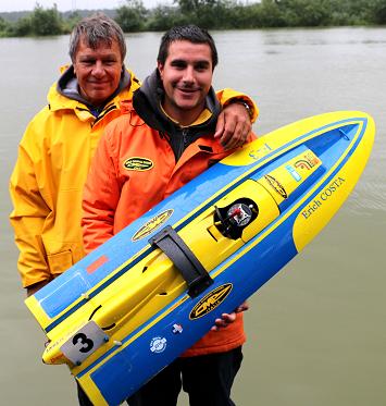 Erich Costa - 6 time Naviga World Champion, Current iMBRA 27cc World Champion