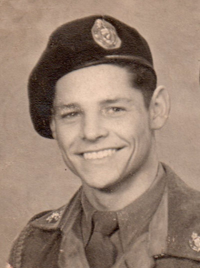 Fred in his national service days