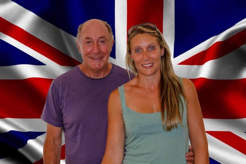 Robert Daniel and daughter Lauren