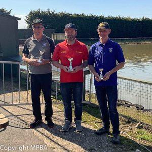 7.5cc podium - 1st Andrew Aykroyd, 2nd Robert Daniel, 3rd Gary Wraight.