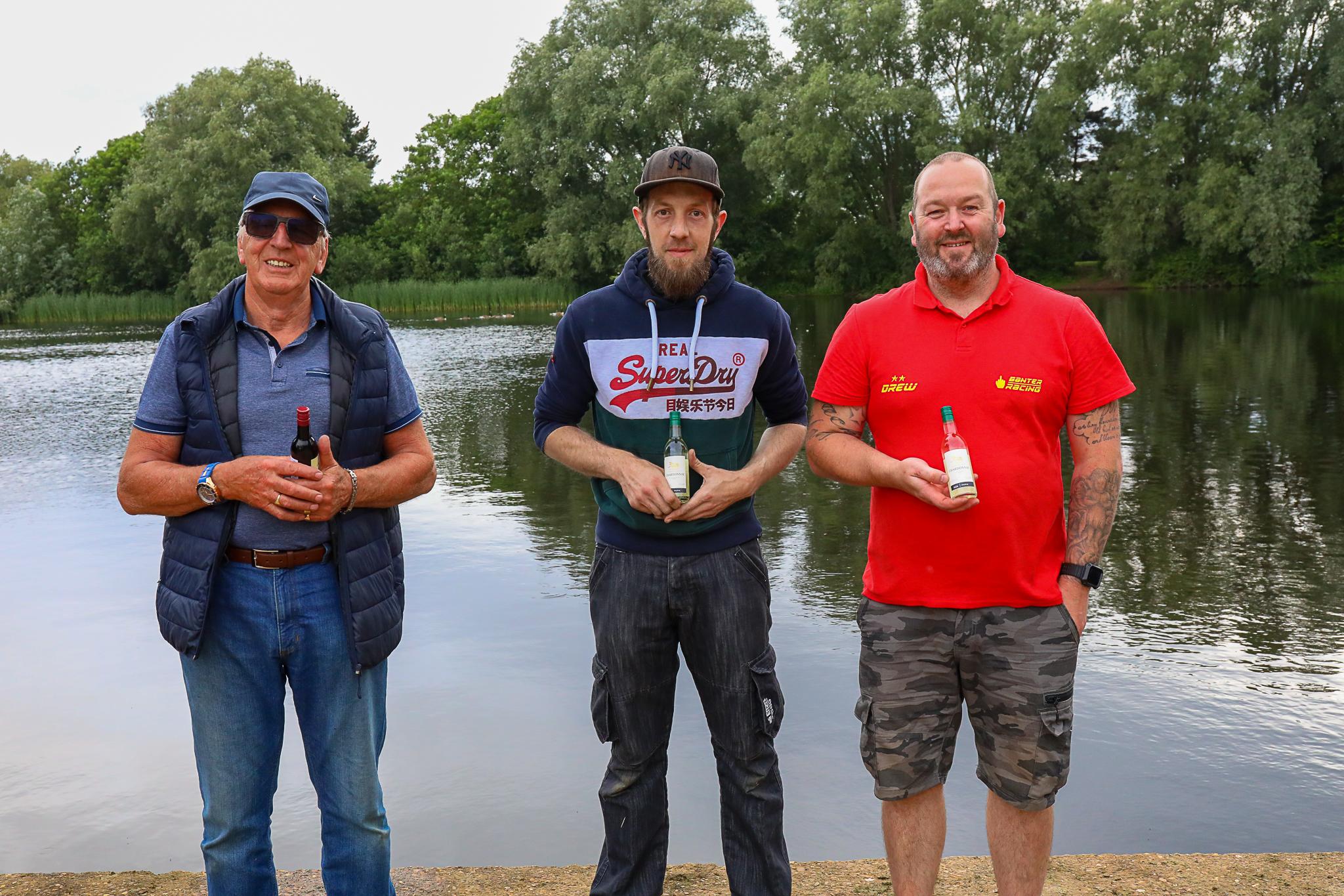 27cc podium - 1st James Taylor, 2nd Andrew Aykroyd, 3rd Mick Pain